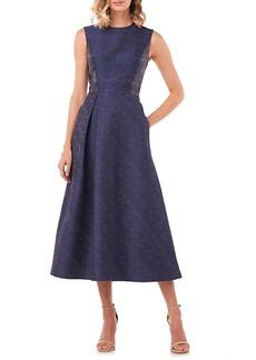 Kay Unger New York Kay Unger Belinda Fit & Flare Dress