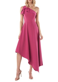 Kay Unger New York Kay Unger Bethany One-Shoulder Asymmetrical Gown