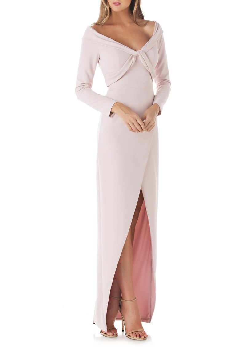 Kay Unger New York Kay Unger Cross Front Gown | Dresses - Shop It To Me
