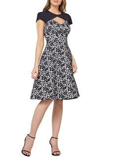 Kay Unger New York Kay Unger Cutout Cocktail Dress