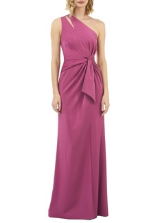 Kay Unger New York Kay Unger Emma One-Shoulder Gown