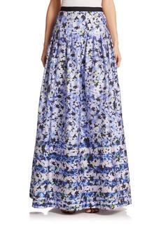 Kay Unger New York Kay Unger Floral Ball Skirt