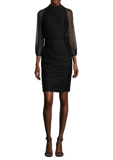 Kay Unger New York Kay Unger Geometric Cocktail Dress