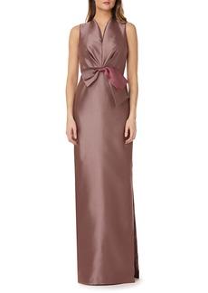 Kay Unger New York Kay Unger Mikado Column Gown