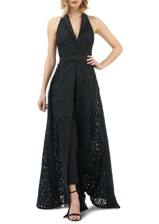 Kay Unger New York Kay Unger Nadia Lace Maxi Romper