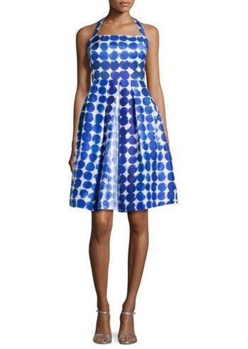 Kay Unger New York Polka-Dot Party Dress