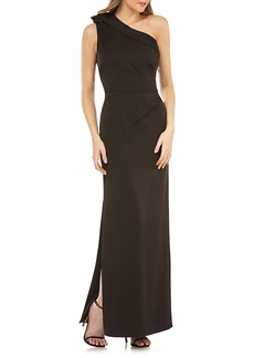 Kay Unger New York Kay Unger One-Shoulder Column Gown