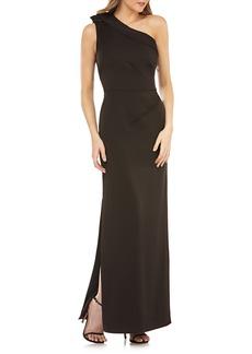 Kay Unger New York Kay Unger One-Shoulder Column Gown