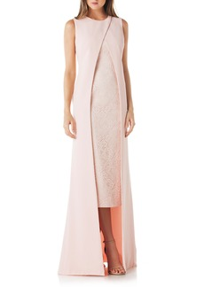 Kay Unger New York Kay Unger Overlay Lace Gown