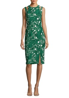 Kay Unger New York Kay Unger Sleeveless Cocktail Dress