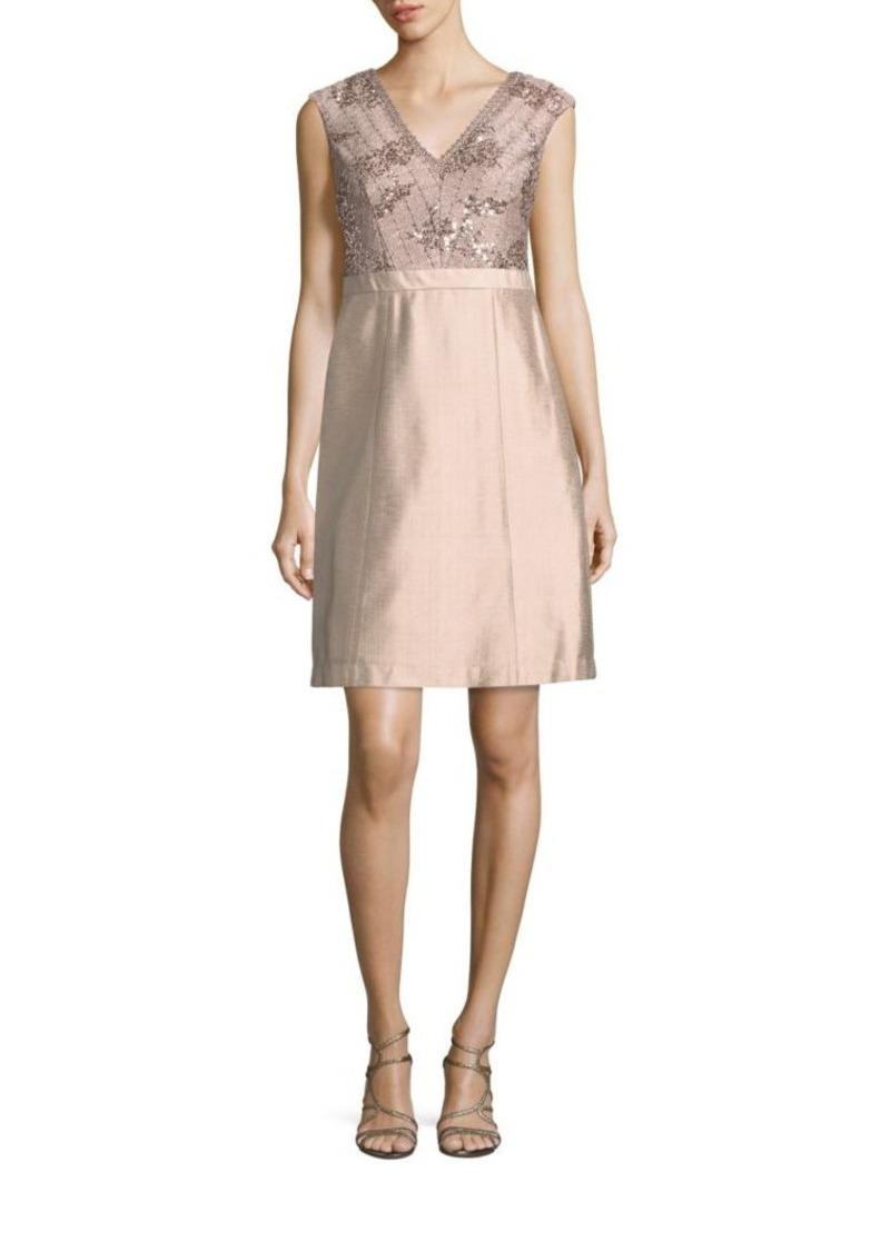 Kay Unger New York Kay Unger Sleeveless Embellished Dress