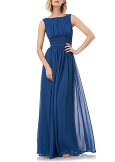 Kay Unger New York Kay Unger Sleeveless Fit & Flare Chiffon Evening Gown