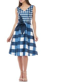Kay Unger New York Kay Unger Sleeveless Fit & Flare Dress