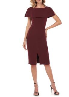 Kay Unger New York Kay Unger Sloan Popover Sheath Dress