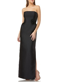 Kay Unger New York Kay Unger Strapless Mikado Evening Dress