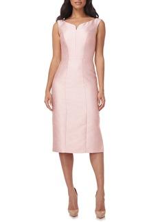 Kay Unger New York Women's Kay Unger Sawyer Sheath Midi Dress