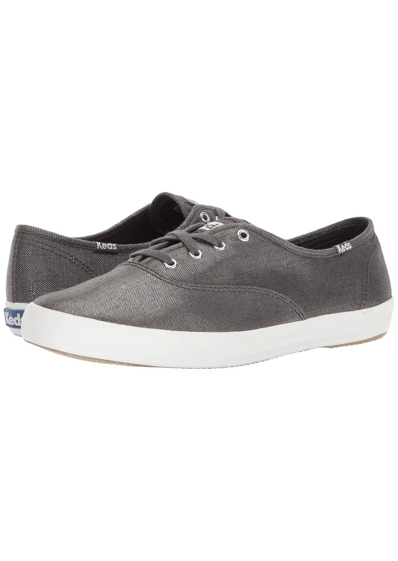 b60a7468b29ae On Sale today! Keds Champion Metallic Linen