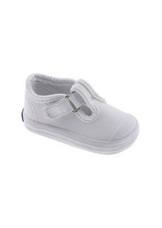 Keds® 'Champion' T-Strap Shoe (Baby & Walker)