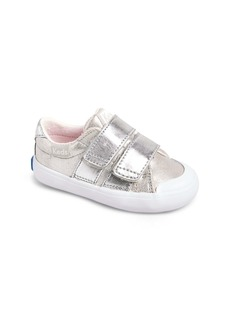 Keds® Courtney Hook & Loop Sneaker (Baby, Walker & Toddler)