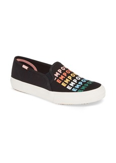 Keds® Double Decker Empower Slip-On Sneaker (Women)