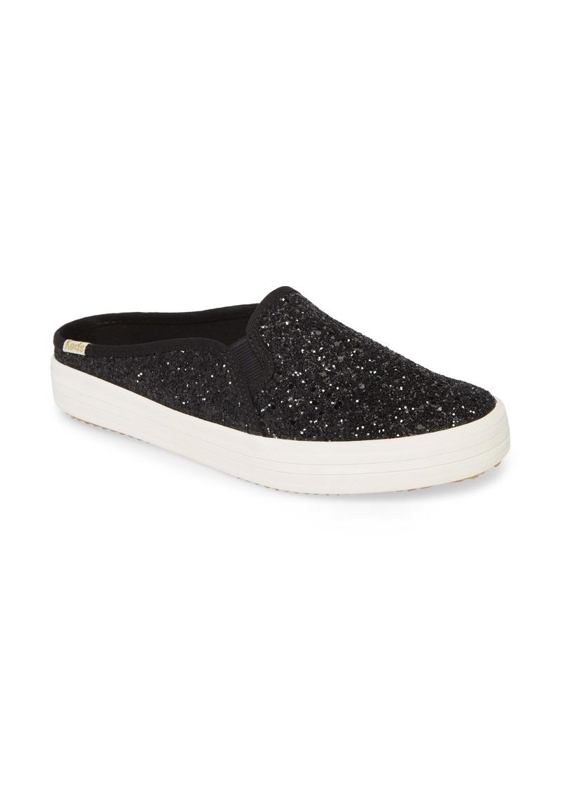 Keds® x kate spade double decker glitter sneaker mule (Women)