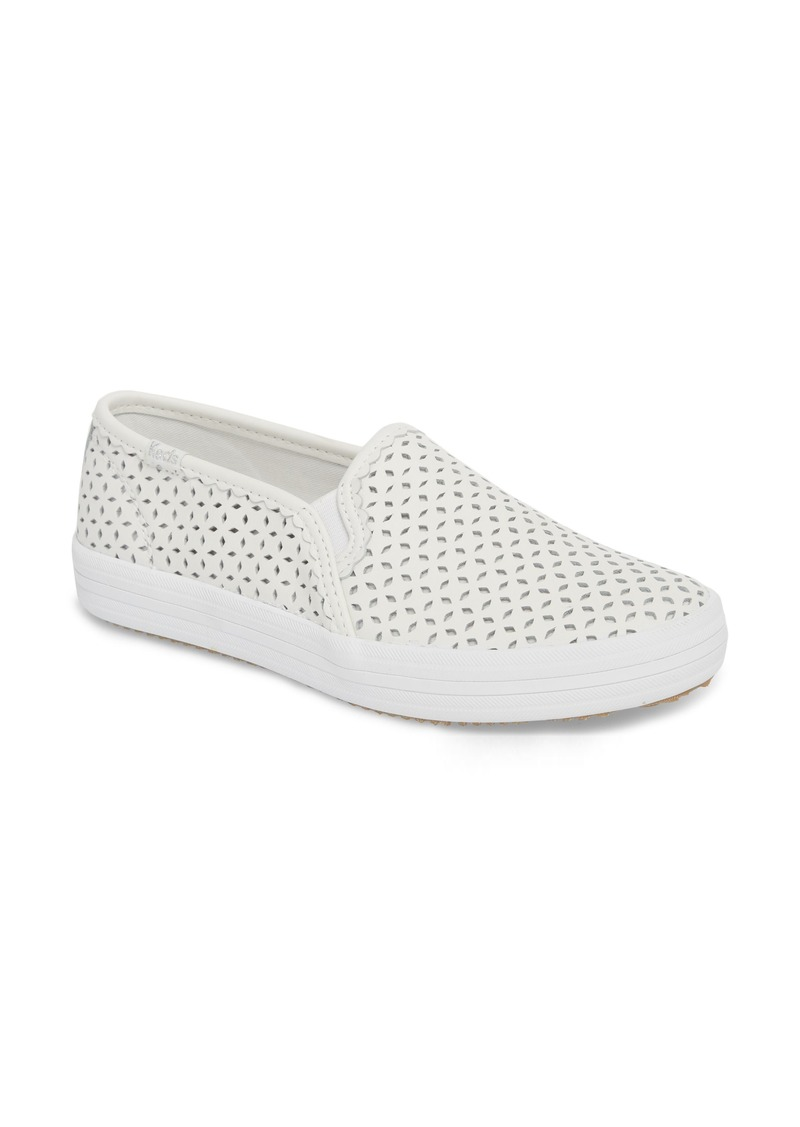 4686e88b837 Keds® for kate spade new york perforated double decker slip-on sneaker  (Women