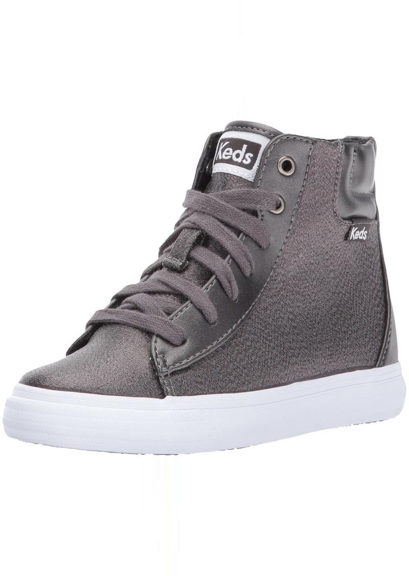 Keds Girls' Double Up High Top Sneaker  5.5 Medium US Big Kid