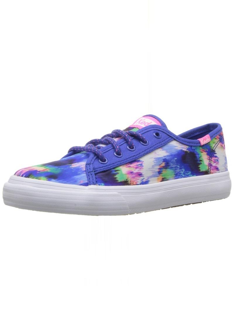 Keds Girls' Double UP/Multi Sneaker Blue