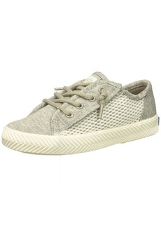 Keds Girls' Kickstart Seasonal Herringbone Jr Sneaker