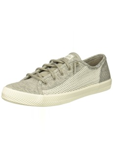 Keds Girls' Kickstart Seasonal Herringbone Sneaker