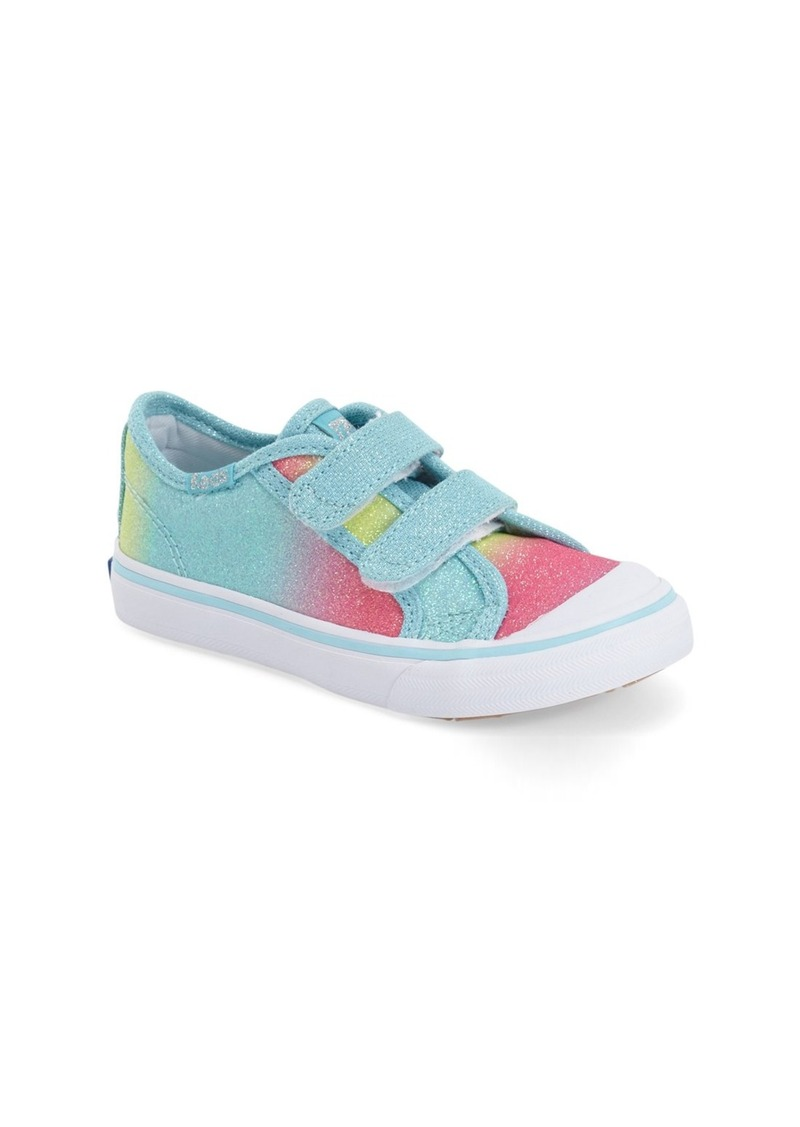 Keds® 'Glittery' Sneaker (Baby, Walker & Toddler)