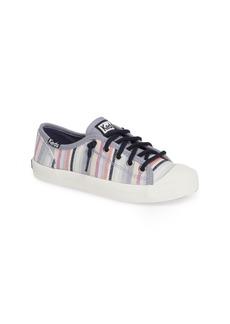 Keds® Kickstart Stripe Cap Toe Sneaker (Baby, Walker, Toddler, Little Kid & Big Kid)