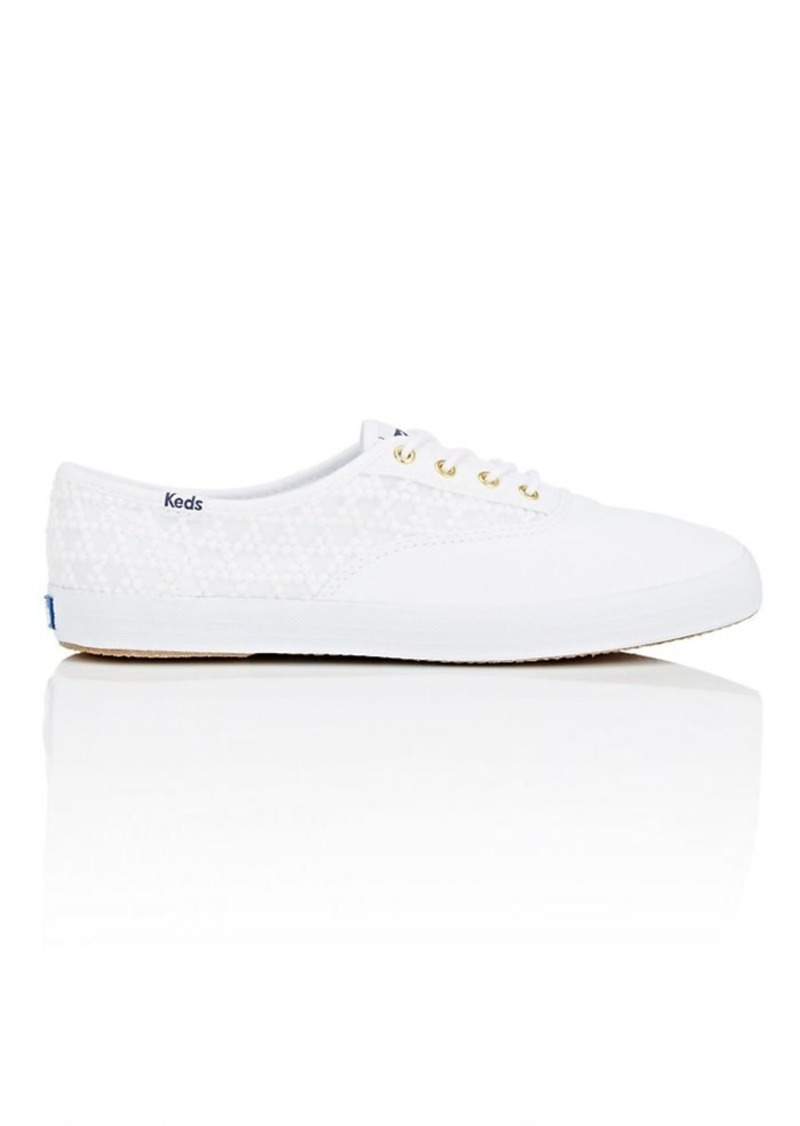 e3e7876f599 Keds Made in the USA Women s Champion Embroidered Triangle Canvas Sneakers