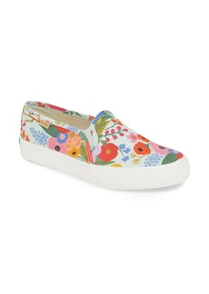 Keds® Rifle Paper Co. Double Decker Slip-On Sneaker (Women)
