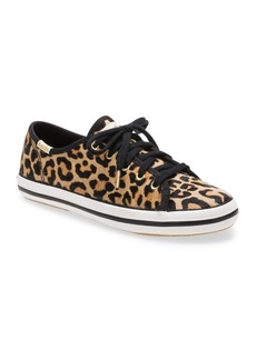 Keds Toddler, Little & Big Girls Keds x Kate Spade Kickstart Seasonal Sneaker in Leopard