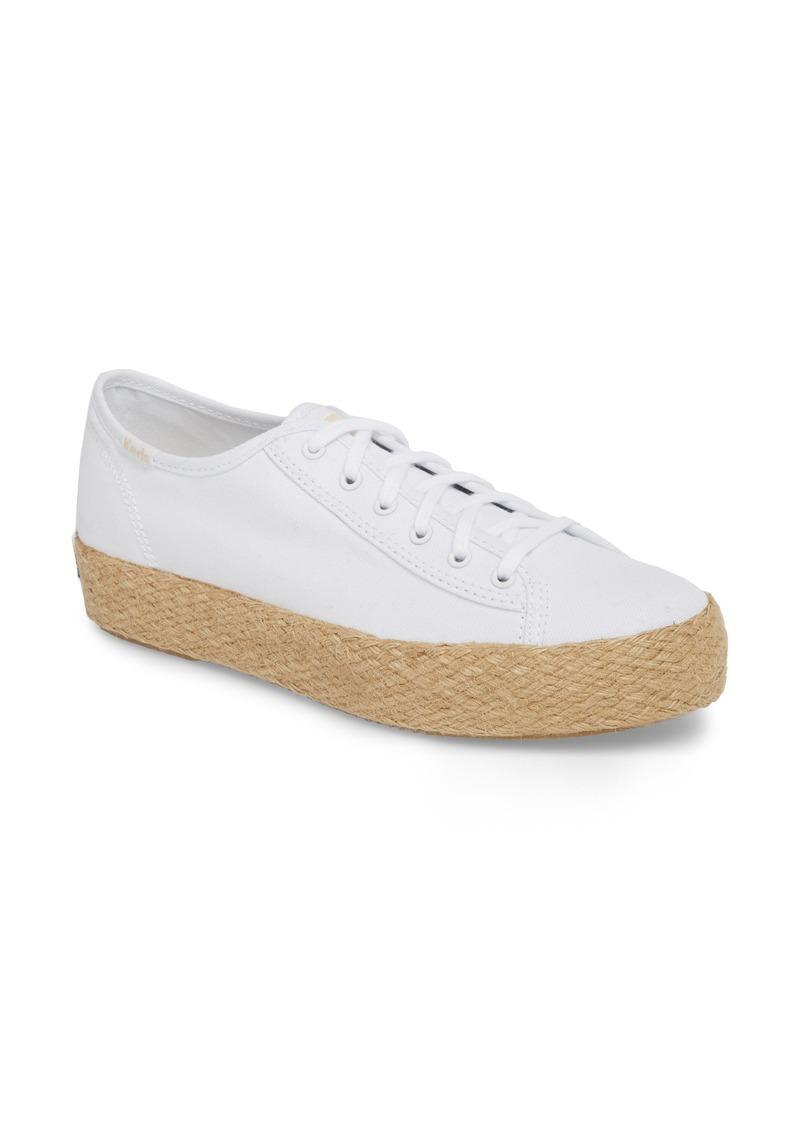 Triple Kick Espadrille Platform Sneaker