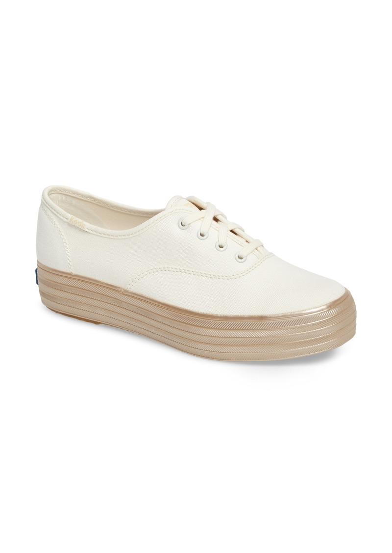1fce1f6c940a6 Keds Keds® Triple Shimmer Platform Sneaker (Women)