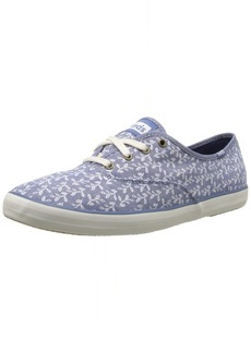 Keds Women's Champion Botanical Leaves  Oxford