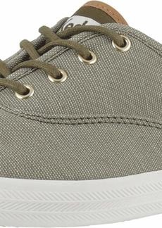 Keds Women's Champion Ticking Canvas Sneaker   M US