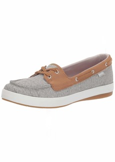 Keds Women's Charter Herringbone Sneaker Gray  M US