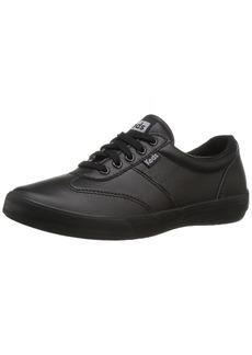 Keds Women's Craze Ii Leather Fashion Sneaker Black  M US