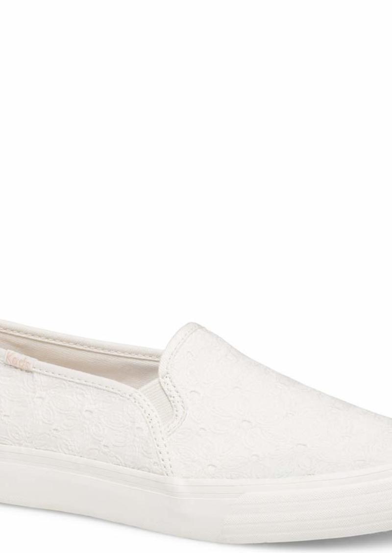 Keds Women's Double Decker Floral Eyelet Sneaker