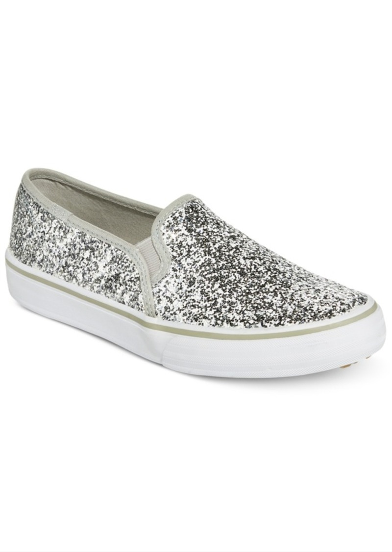 9b32af18d0e2 On Sale today! Keds Keds Women s Double Decker Glitter Slip-On ...