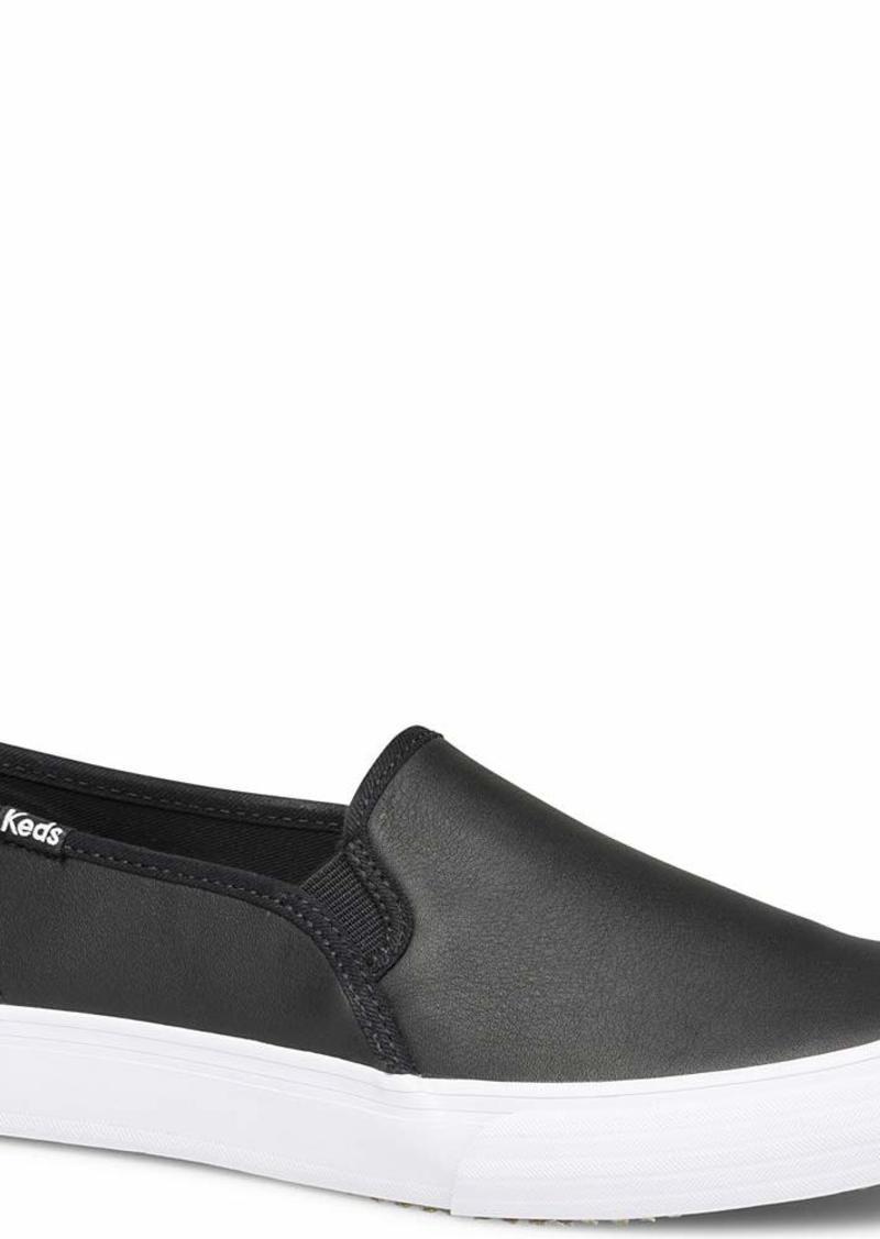 Keds Women's Double Decker Leather Sneaker   M US