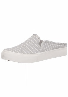 Keds Women's Double Decker Mule Chambray Stripe Sneaker   M US
