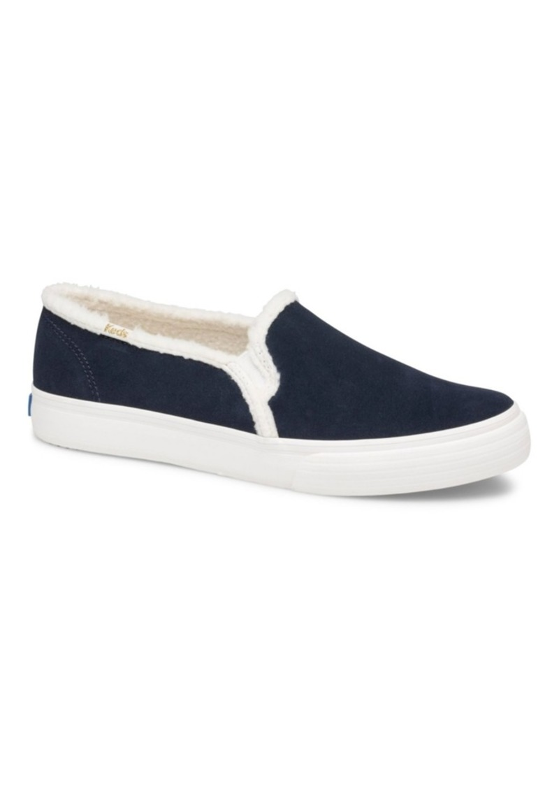 Keds Women's Double Decker Shearling Sneakers, Created For Macy's Women's Shoes