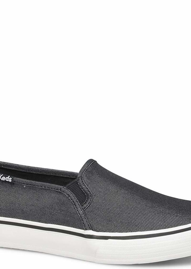 Keds Women's Double Decker Simmer Chambray Sneaker   M US