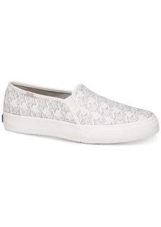 Keds Women's Double Decker Slip-On Fashion Sneakers Women's Shoes