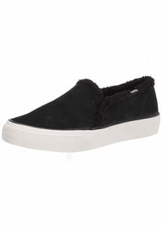 Keds womens Double Decker Suede/Shearling Sneaker   US