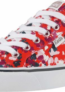Keds Women's Jump Kick Floral Shoe RED  M US